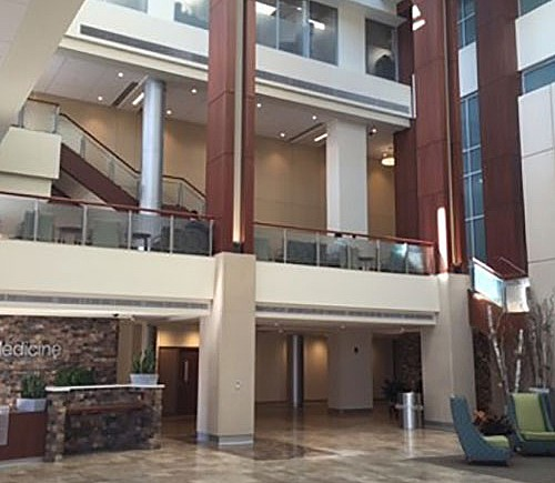 WVUH - Ruby Hospital Atrium Expansion and Renovation
