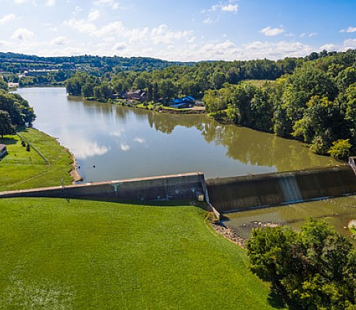 Canonsburg Lake Dam Improvements